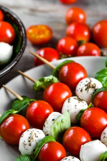 Bite Into Summer with Caprese Skewers