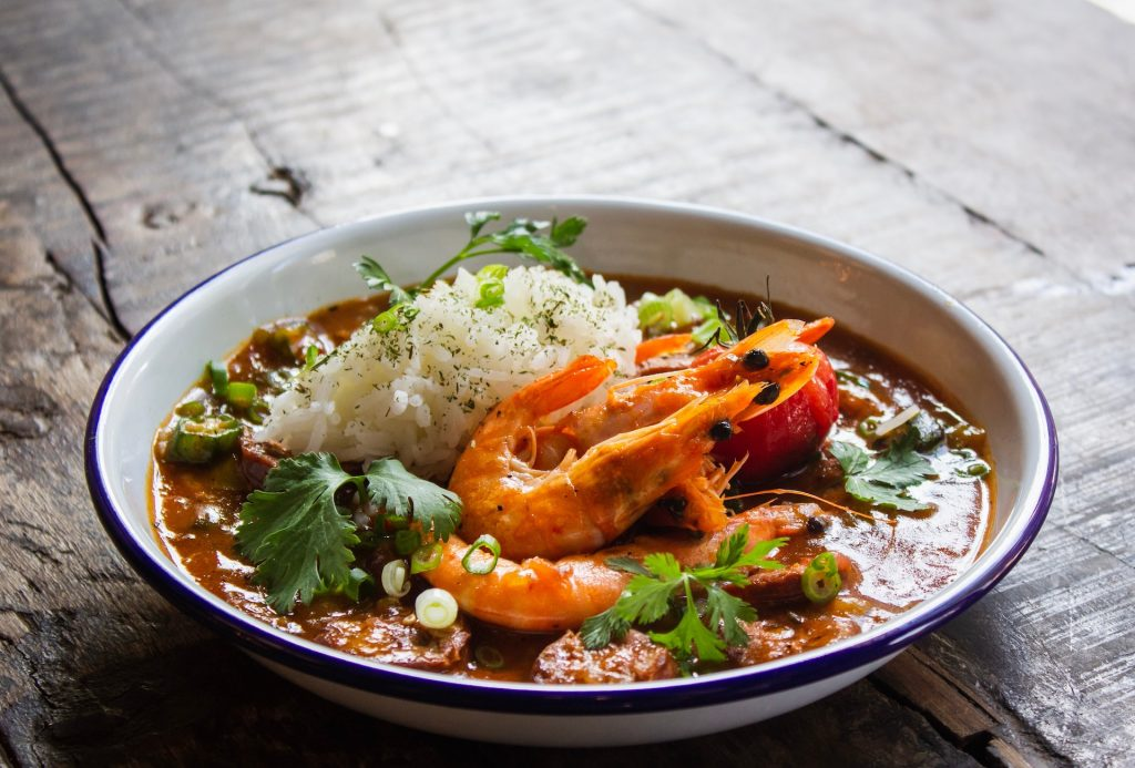 Ridge Gourd Prawn Curry
