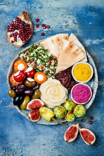 Appetiser Platter Heaven on a Plate