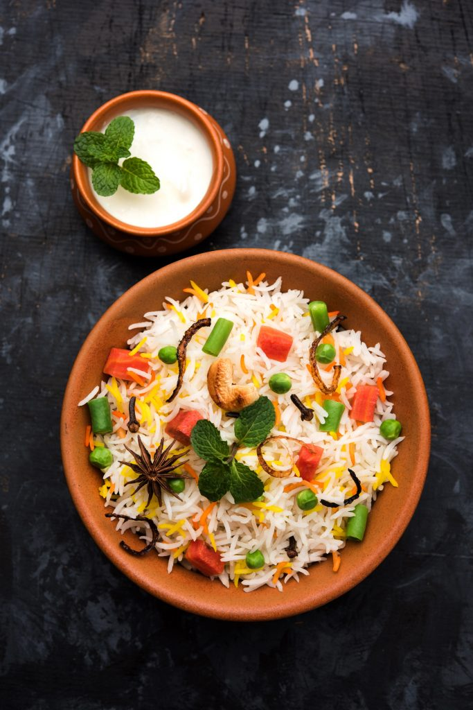 Tehri (Spicy Rice Cooked With Vegetables)
