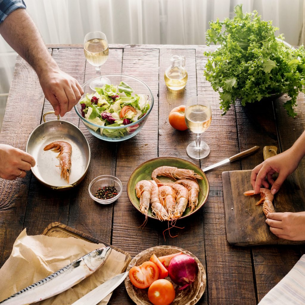Sharing a meal with the one you love is always a pleasant experience, but for food-lovers making that meal together is a totally new level of intimacy.