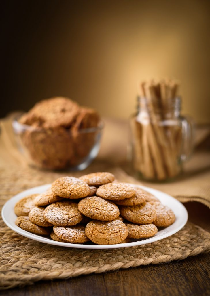 Ginger and Buckwheat Honey Cookies