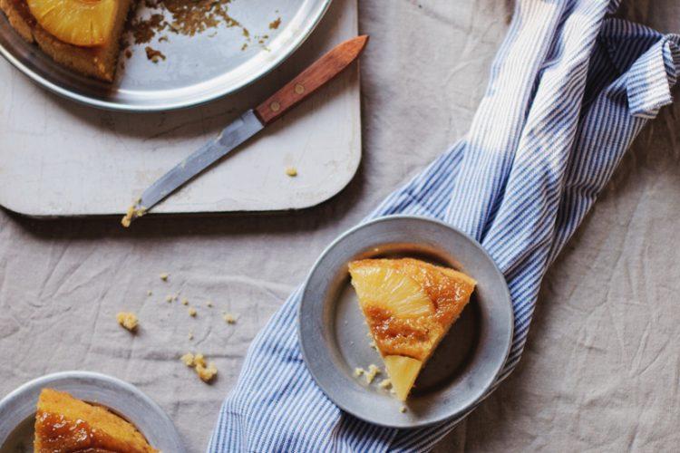 Pineapple Cake Recipe (Eggless)