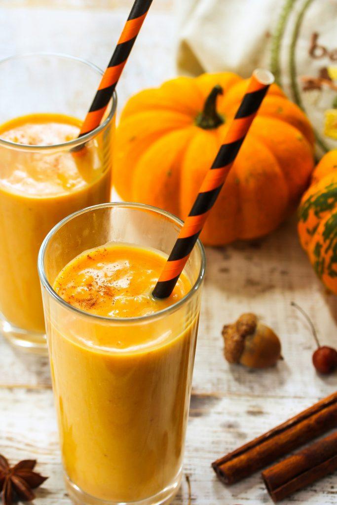 Ginger Pumpkin Protein Smoothie